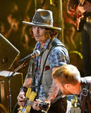 Johnny Depp performed at the MTV Movie Awards.