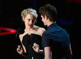 Emma Stone and Andrew Garfield Couple Up at the MTV Movie Awards