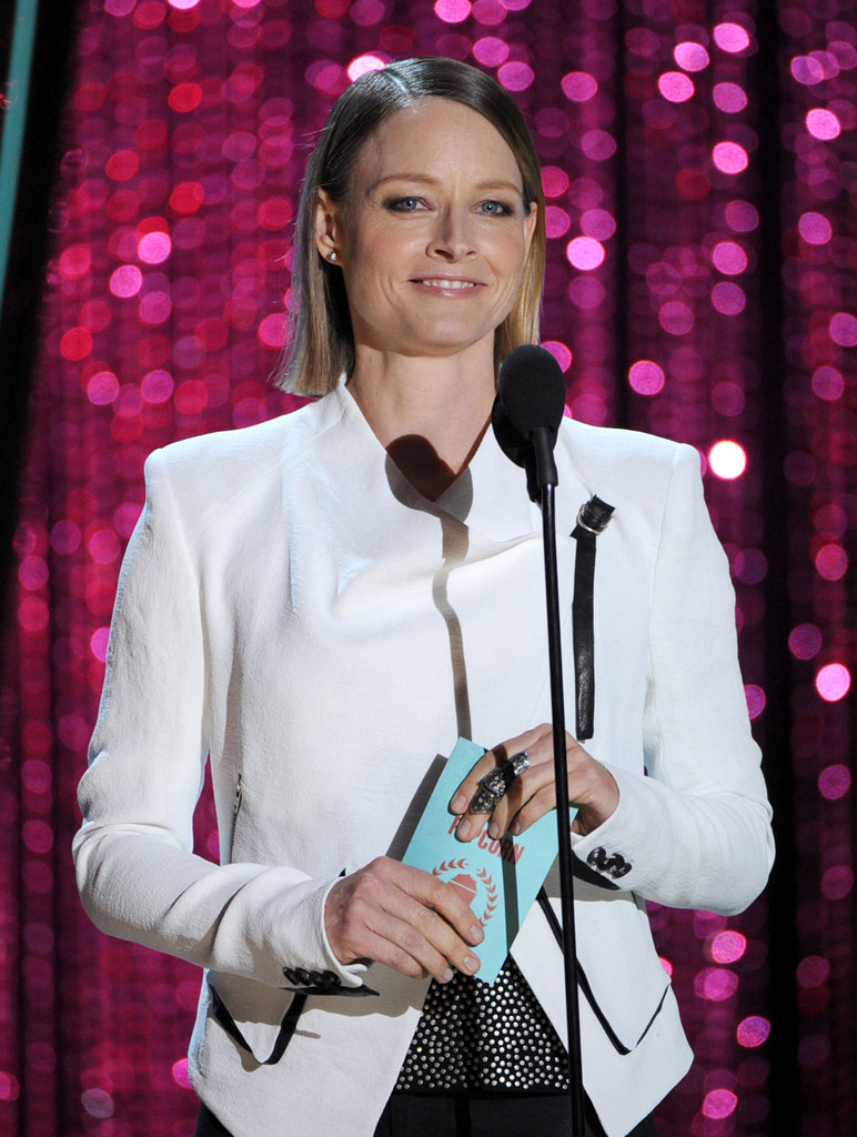 Hollywood veteran Jodie Foster joined in the fun.