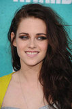 Kristen Stewart smiled at the MTV Movie Awards.