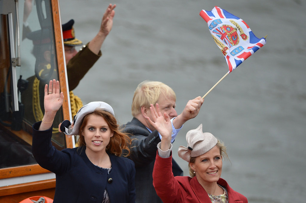 Princess Beatrice of York and Sophie, countess of Wessex, took part in the festivities.