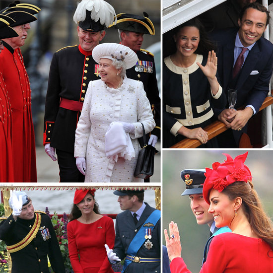 Queen Elizabeth Hits the High Seas With the Thames Diamond Jubilee Pageant