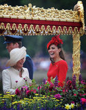 Kate laughed with Camilla.