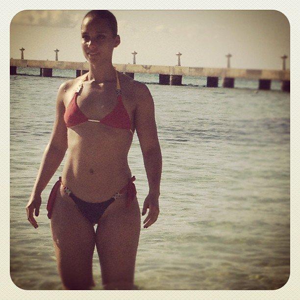Swizz Beatz shared a photo of bikini-clad Alicia Keys. Source: Instagram user therealswizzz