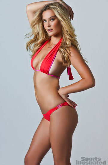 Bar Refaeli wore a barely there bikini for the pages of the 2012 Sports Illustrated Swimsuit Edition.