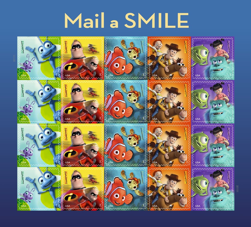 Mail a Smile Forever Stamps