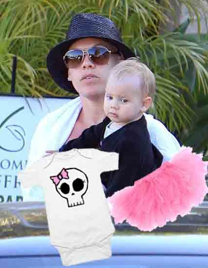Pink and Baby Willow