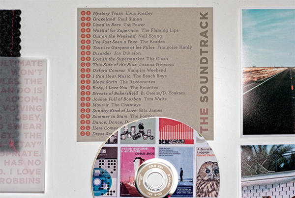 '60s Wedding Soundtrack CD Favor