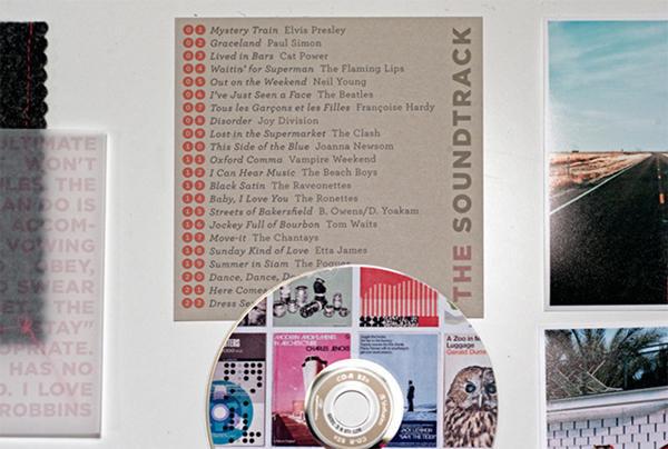 '60s Wedding Soundtrack CD Favor