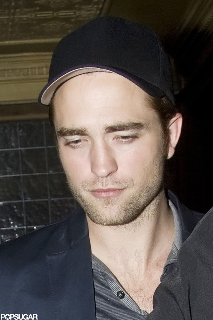 Robert Pattinson Hangs Out in London While Kristen Returns Home