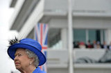 The queen admired the Diamond Jubilee Derby.
