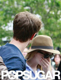 Emma Stone and Andrew Garfield Spend Their Downtime Together