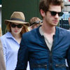 Emma Stone and Andrew Garfield at Lunch Pictures