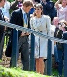 Prince William, Kate Middleton and Prince Harry Attend A Friend's Wedding In Lincolnshire
