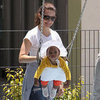Kristin Davis Pictures With Daughter Gemma