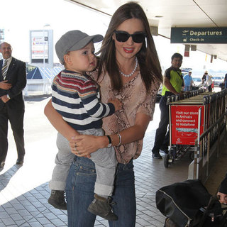 Miranda Kerr Pictures With Son Flynn Bloom in Sydney
