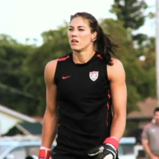 US Soccer Goalie Hope Solo Interview on Olympics Training