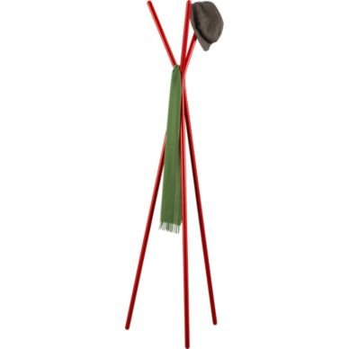 Give Dad a place to hang his hat with this Three Prong Red Coat Rack ($70).