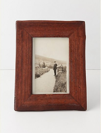 Fill this Large Repurposed Frame ($28) with a sentimental photo that Dad will appreciate.