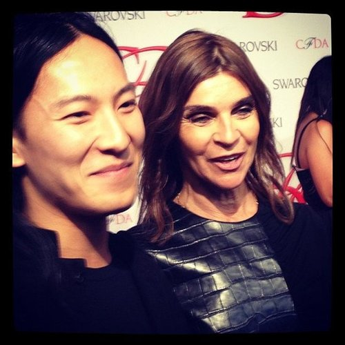 CFDA Awards 2012 Instagram Pictures