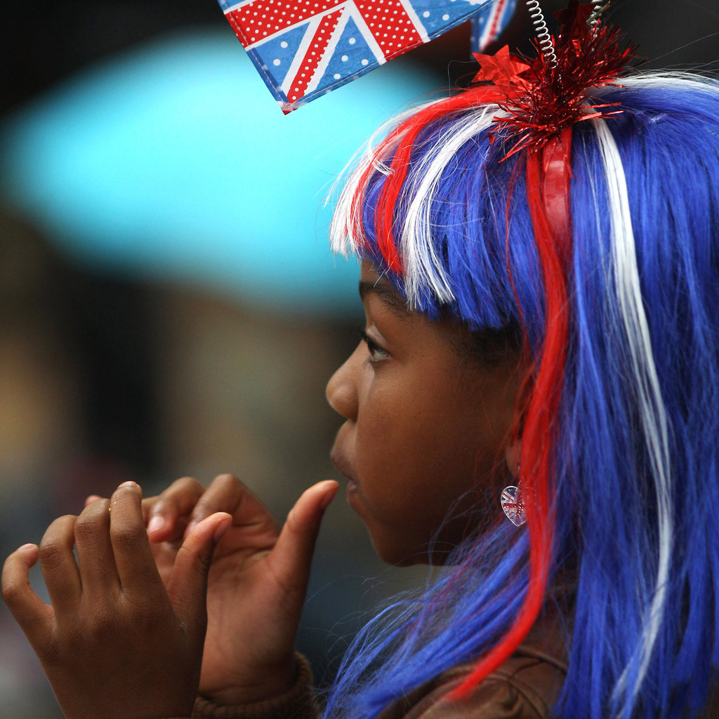 5. Patriotic Hair Color