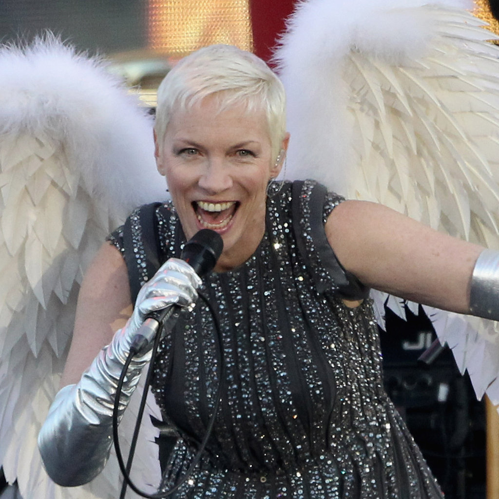 6. Annie Lennox's Angelic Beauty