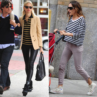 Celebs in Stripes