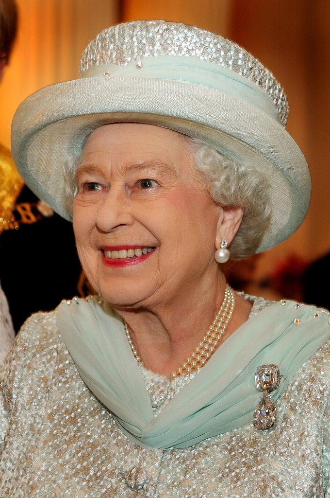The queen smiled on the final day of her celebrations.