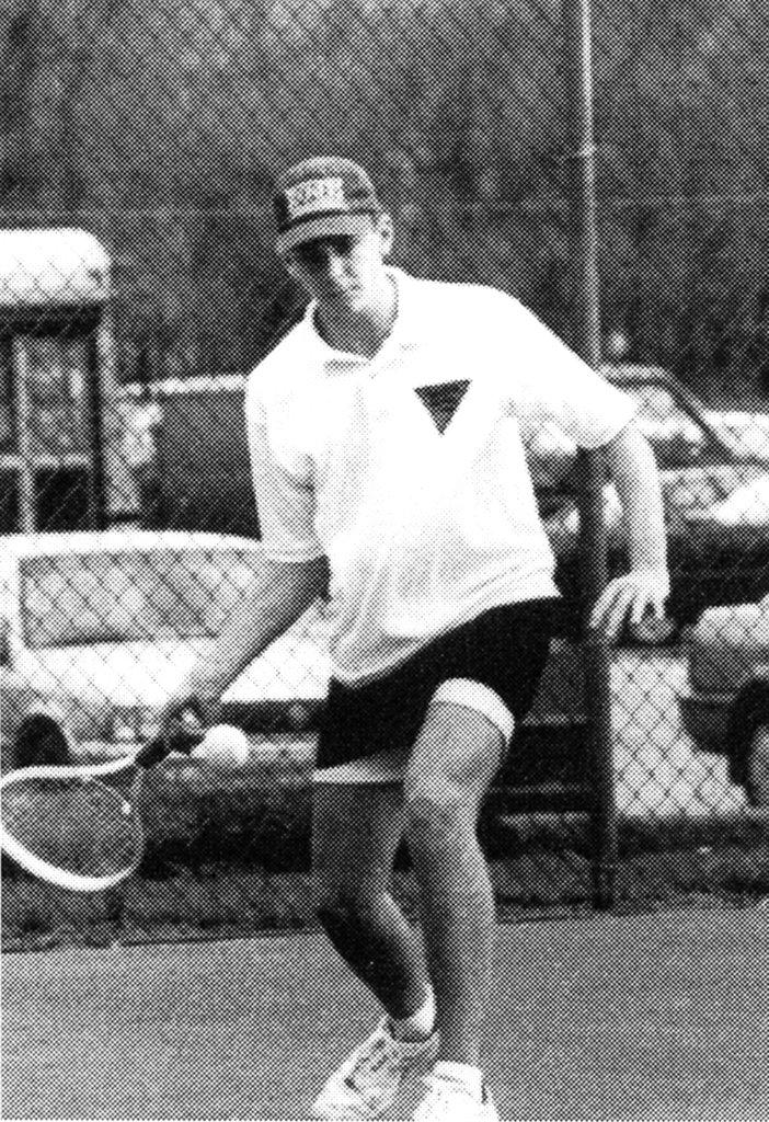 Bradley Cooper played tennis.