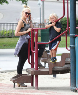Gwen Stefani at the Park With Zuma Rossdale Pictures