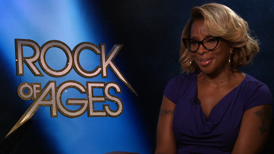 Mary J. Blige Dishes on Her Wild Rock of Ages Costumes and Julianne Hough