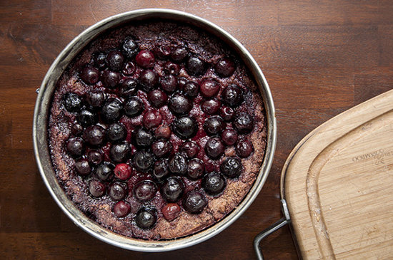 Chocolate-Cherry Pie