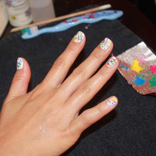 Graffiti Nail Art Tutorial by Naomi Yasuda