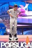 Justin Bieber played a game on El Hormiguero.