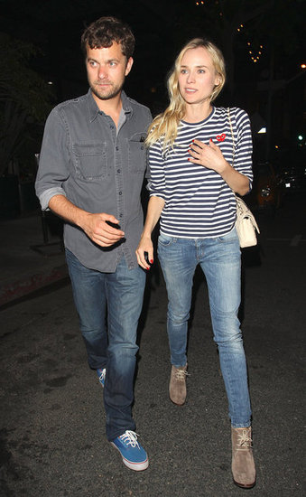 Diane Kruger and Joshua Jackson Do Dinner in LA