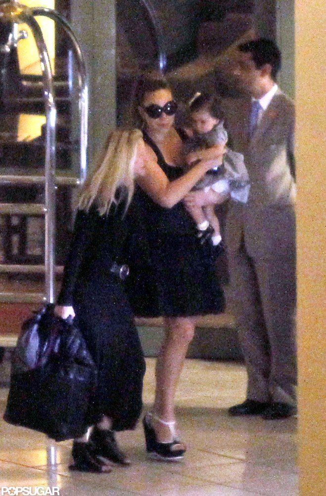 Mariah Carey and daughter Monroe Cannon arrived in Nice.