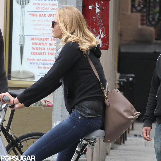 Erin Heatheron rode her bike around NYC.