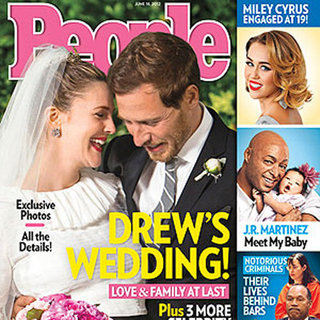 Drew Barrymore Wedding Day Pictures