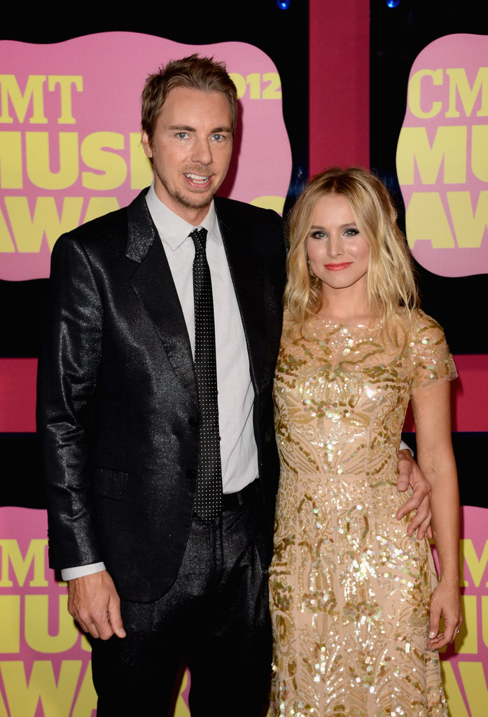 Kristen Bell brought Dax Shepard to the CMT Music Awards in Nashville.