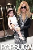Rachel Zoe was all smiles as she carried baby Skyler in NYC.