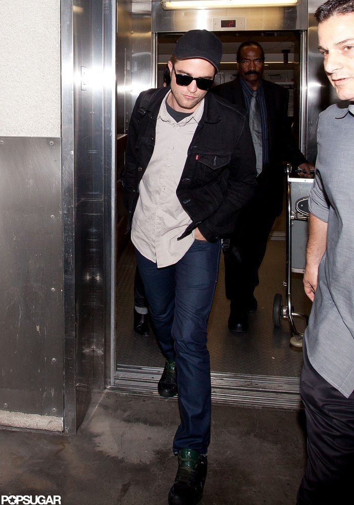 Robert Pattinson returned to the West Coast after a minitour for Cosmopolis.