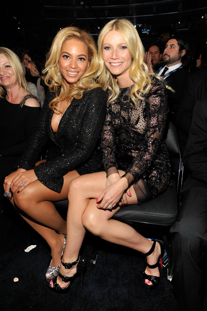 "Beyoncé Knowles and Gwyneth Paltrow have been close friends for years, and frequently double date with their husbands, Jay-Z and Chris Martin.  Beyoncé told Harper's Bazaar UK of Gwyneth, ""She is what I strive to be one day."" In the same publication, Gwyneth returned the compliment by calling Beyoncé ""the most talented human being on the planet."""