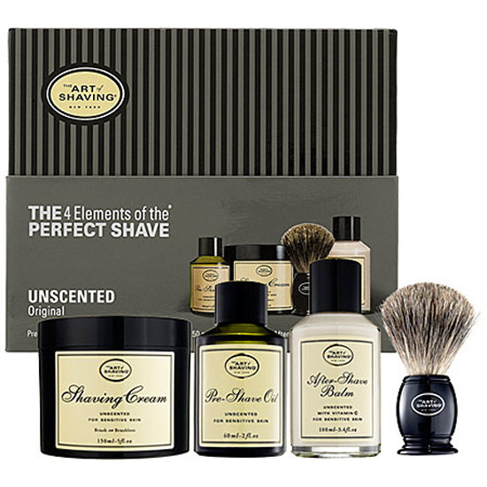 The Four Elements of the Perfect Shave Kit ($100)