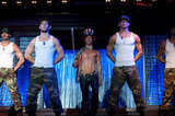 Joe Manganiello, Alex Pettyfer, Matthew McConaughey, and Channing Tatum in Magic Mike.