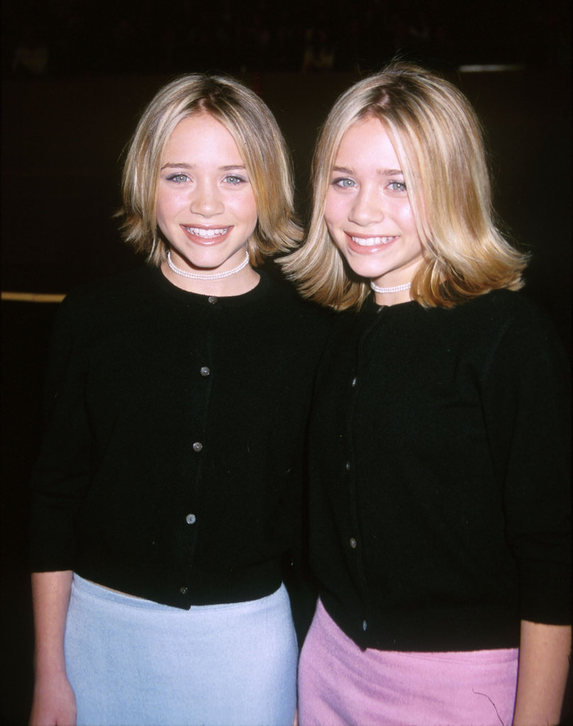 Mary-Kate Olsen and Ashley Olsen sported matching haircuts at the LA premiere of Anna and the King in 1999.