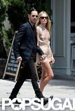 Kate Bosworth and Michael Polish were hand-in-hand for a stroll in sunny NYC.