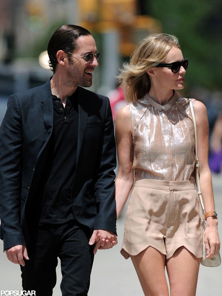 Kate Bosworth and Michael Polish enjoyed the sunshine in NYC during a walk together.