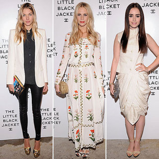 Chanel Little Black Jacket Party Celebrity Style