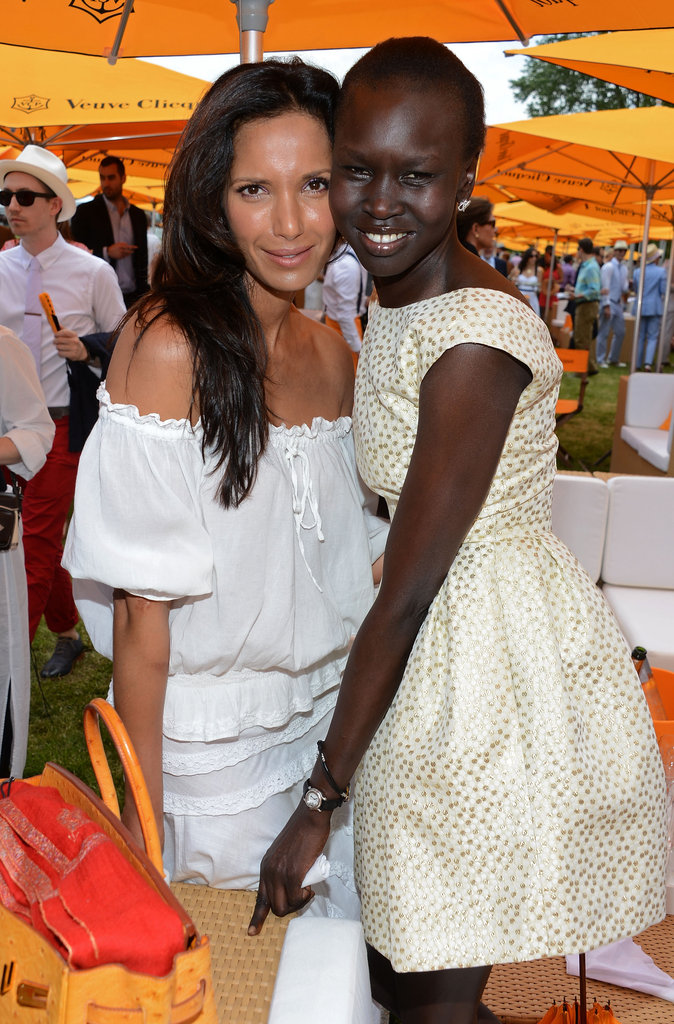 Padma Lakshmi and Alek Wek