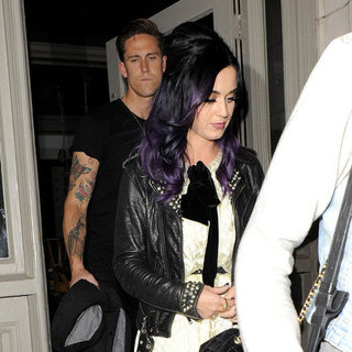 Katy Perry and Robert Ackroyd Pictures in London